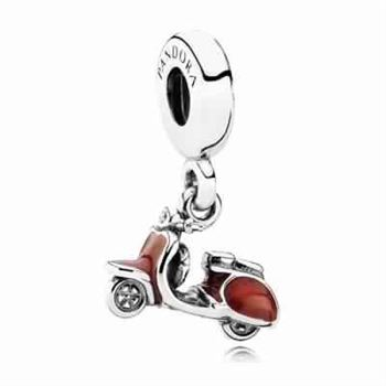 Pandora Love Red Scooter Charm 791140